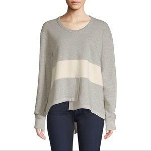 WILT Bix Mix Shift Sweatshirt in Grey